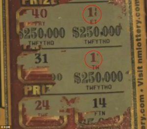 Amerikaan wint geen jackpot met Kraslot door een pijnlijke drukfout