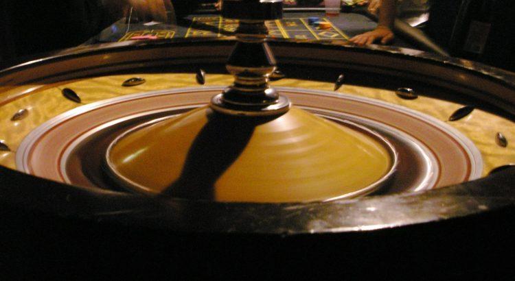 Roulette spelen in een casino